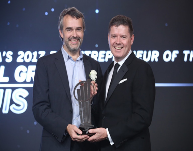 Louis Roy of Optel Group Named Canada's EY Entrepreneur Of The Year™ 2017...