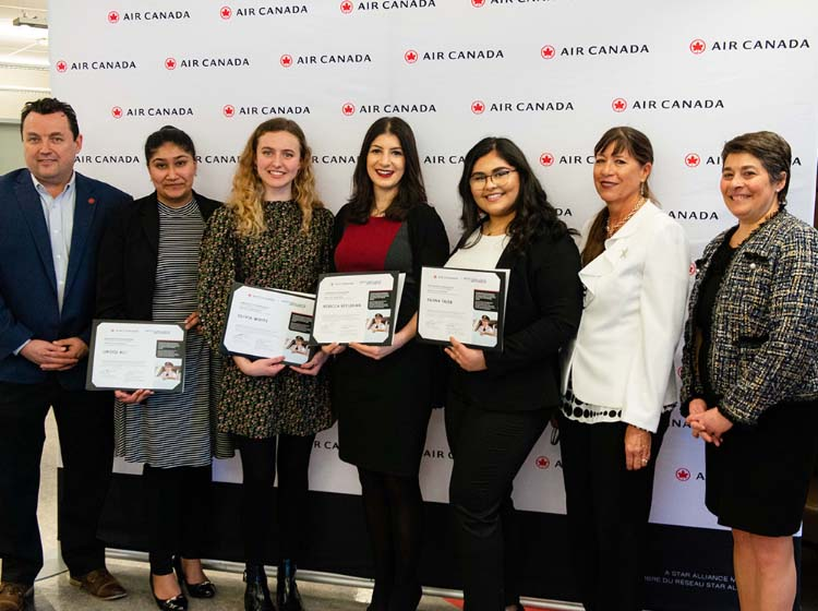 Air Canada Salutes Achievements of Present and Next Generation of Women in Aviat...
