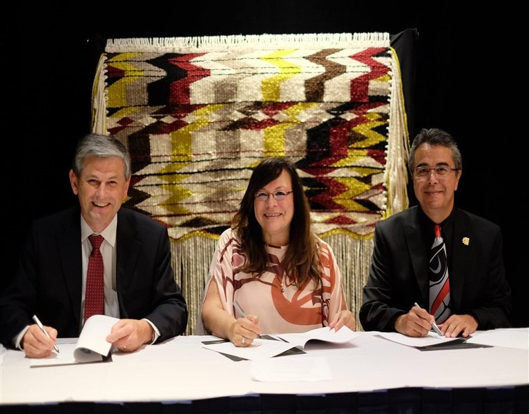 Protocol Agreement Strengthens Collaboration on Aboriginal Post-Secondary Educat...