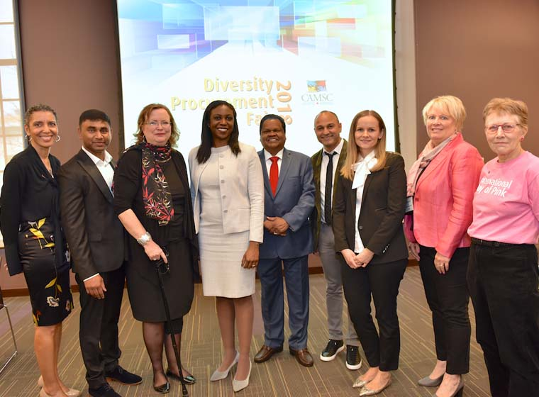 Building Momentum focus of CAMSC Networking Event - 14th annual Diversity Procur...