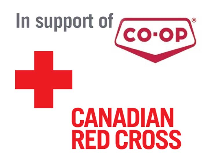 Co-ops donate $58,440 to Canadian Red Cross