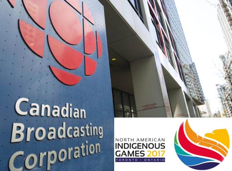 CBC named premier media partner for the Toronto 2017 North American Indigenous G...