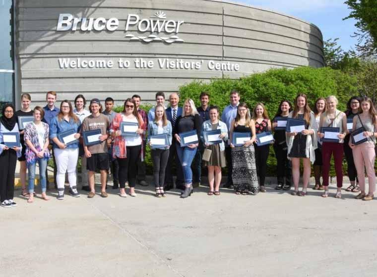 Bruce Power awards $70,000 in post-secondary scholarships