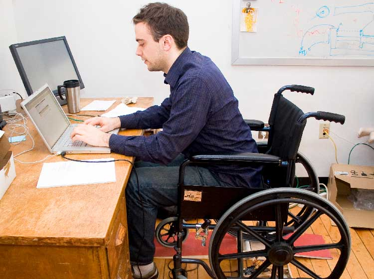 Government of Canada helping to improve access to the workforce for people with....