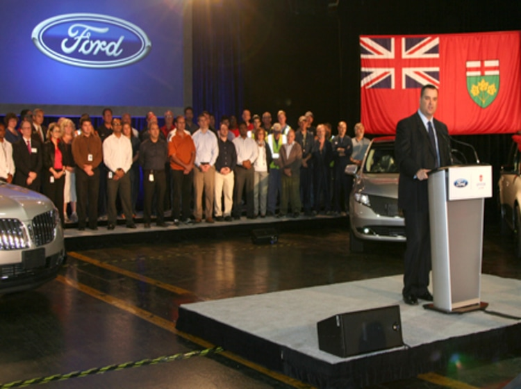 Historic Ford Canada Investment Transforming Ontario into Global Electric Vehicl...